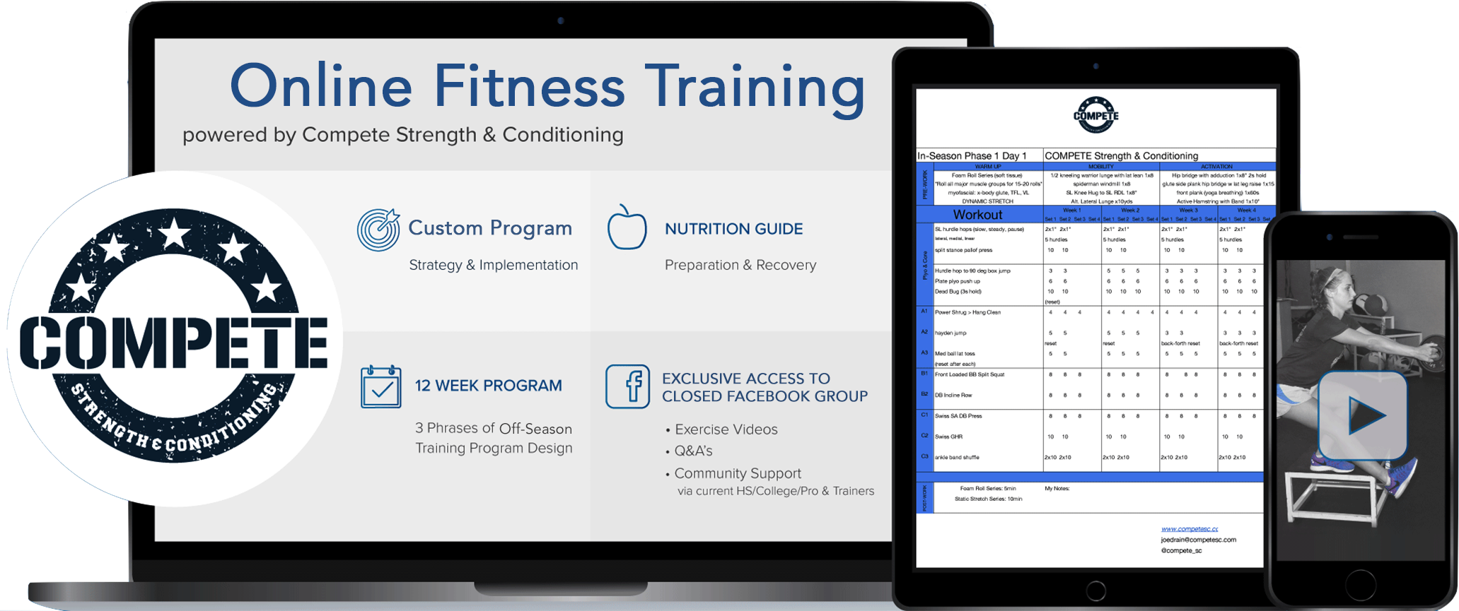 Online Training | Compete Strength & Conditioning